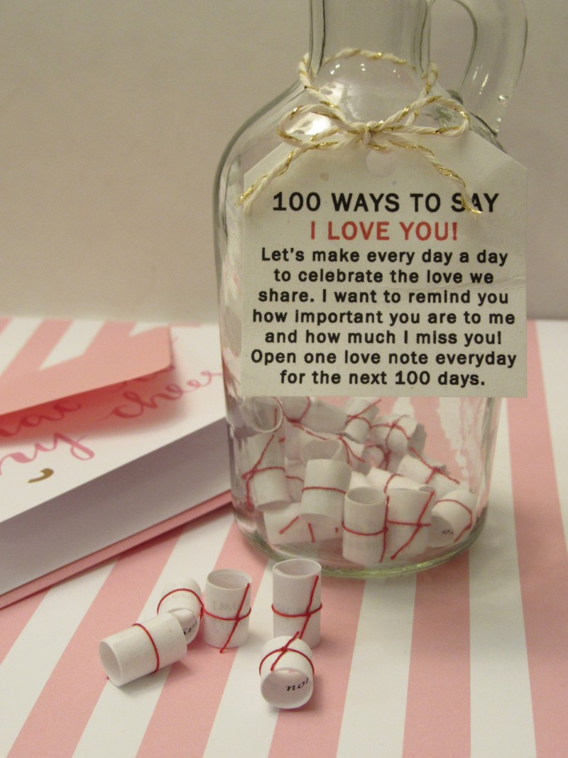 A DIY for you Valentine Message in a Bottle